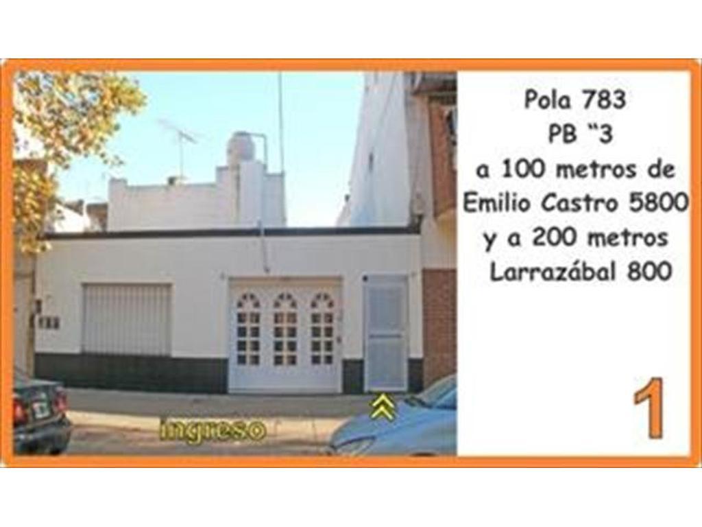 Departamento tipo casa en alquiler en pola 783 liniers for Pisos alquiler pola de lena
