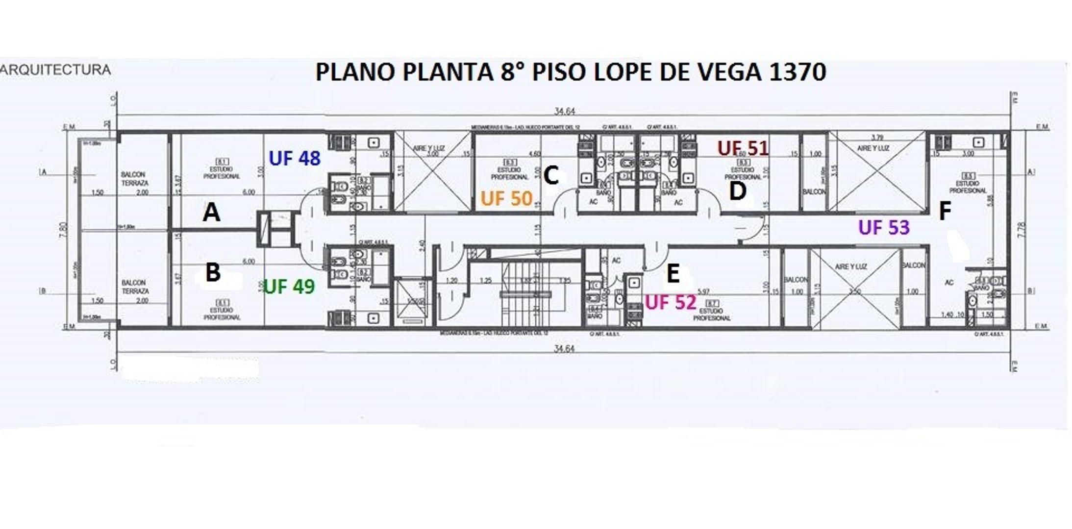 XINTEL(NIR-NIR-1021) Departamento - Venta - Argentina, Capital Federal - AV. LOPE DE VEGA  AL 1300