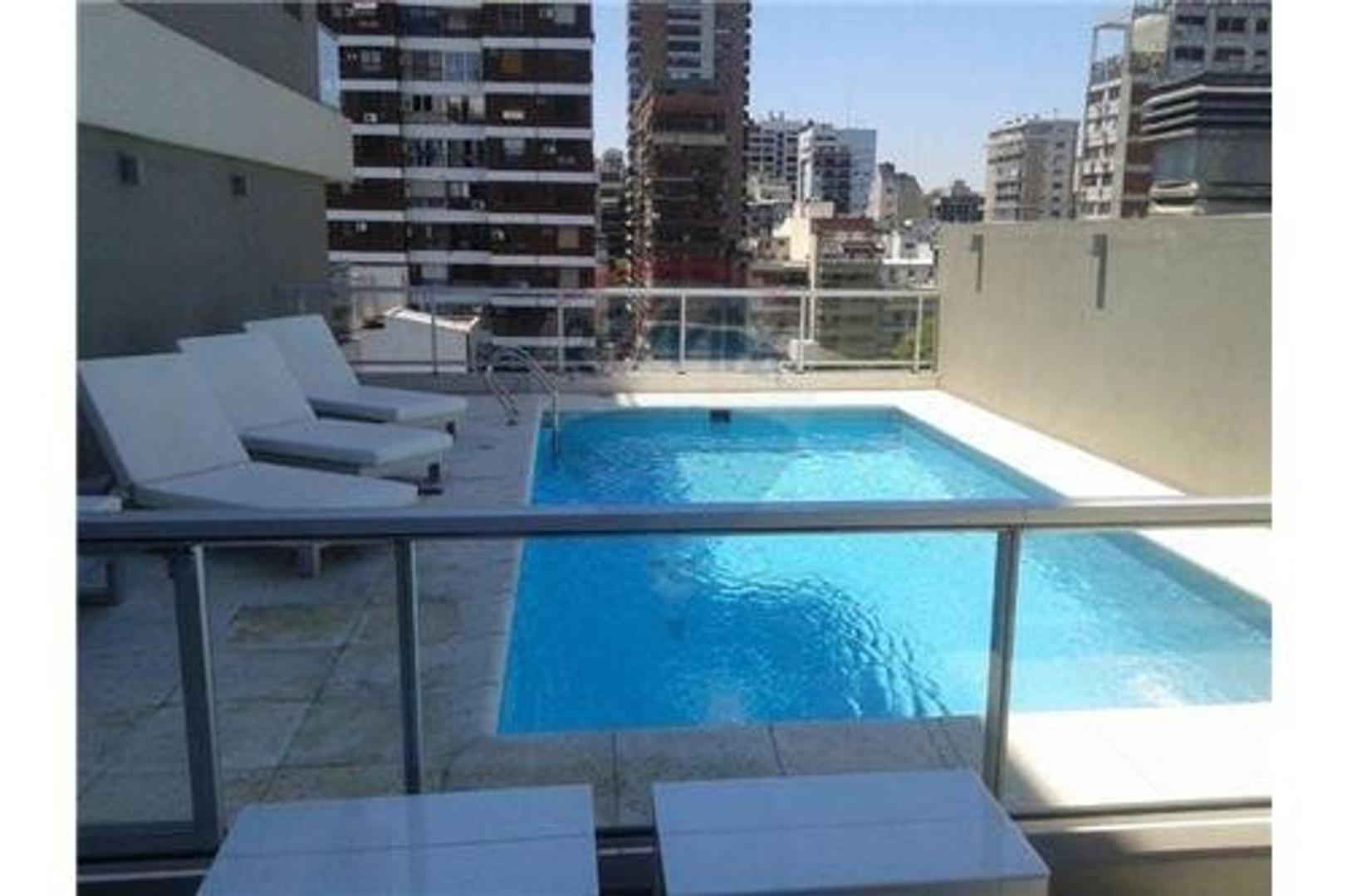 Oportunidad! 1 dorm 45 m² amueblado c/ amenities