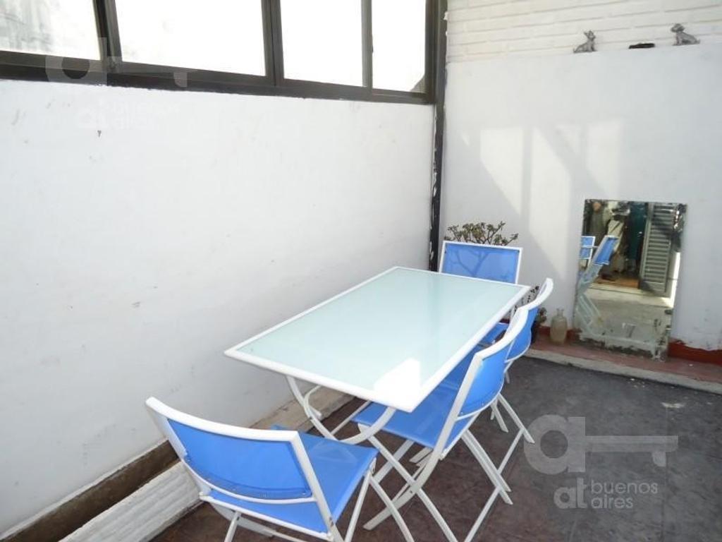 Boedo, Departamento PH 2 Ambientes con Terraza, Alquiler Temporario Sin Garantía!