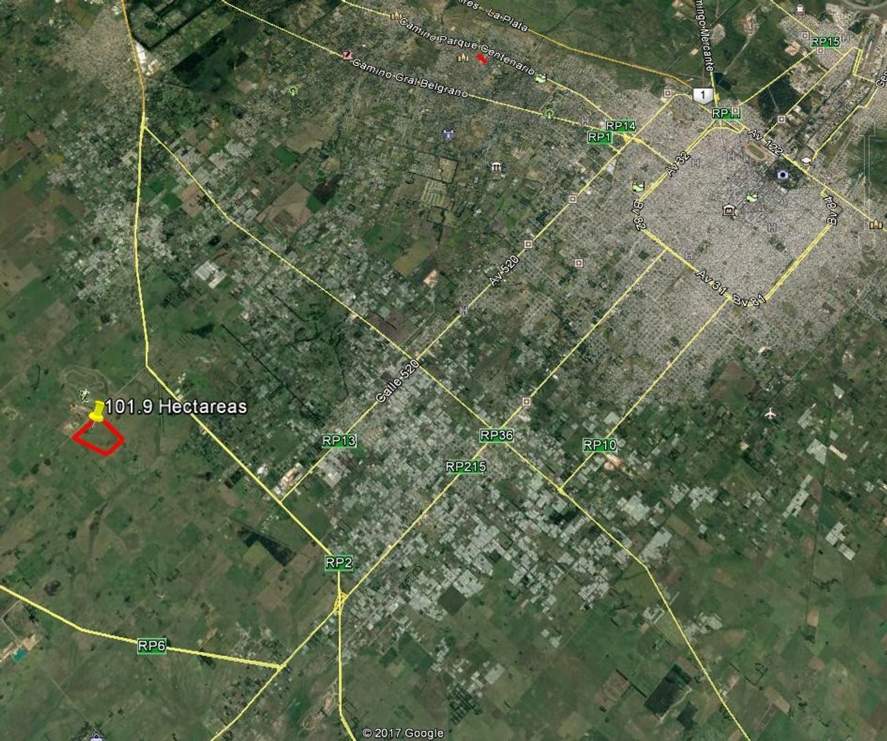 Campo en venta en Coronel Brandsen Ruta 2 km 49 Dacal Bienes Raices