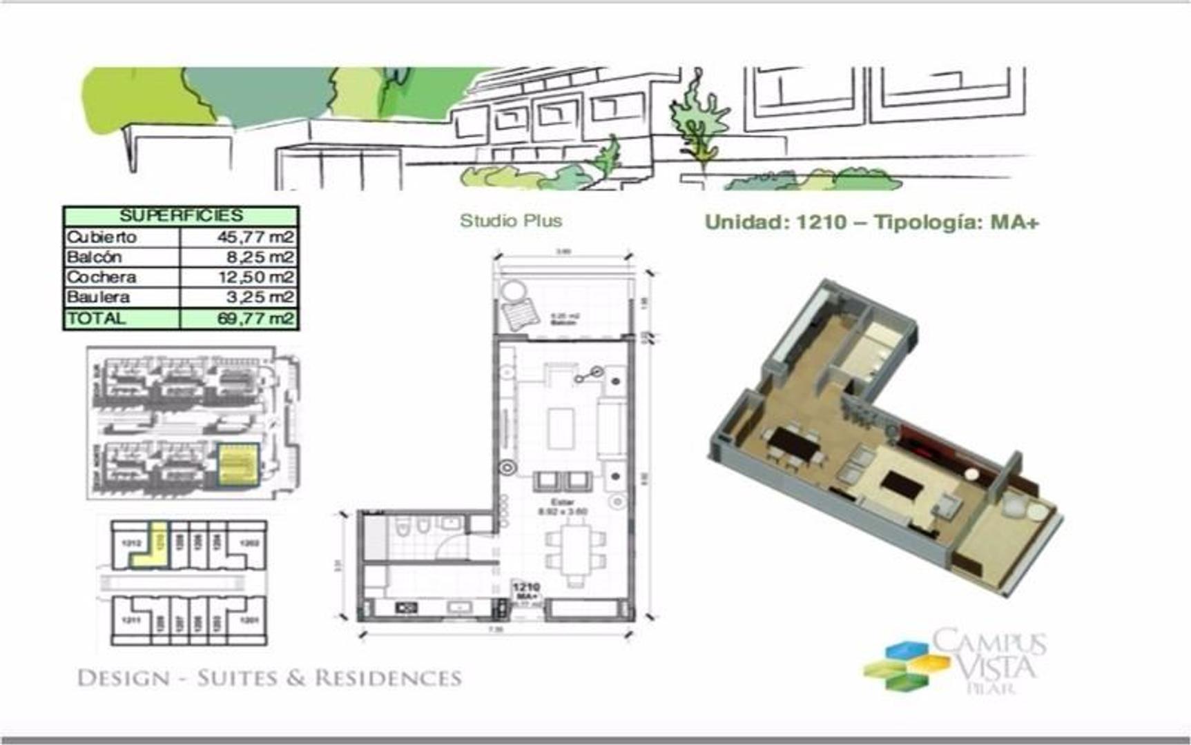 Departamento Campus Vista Pilar