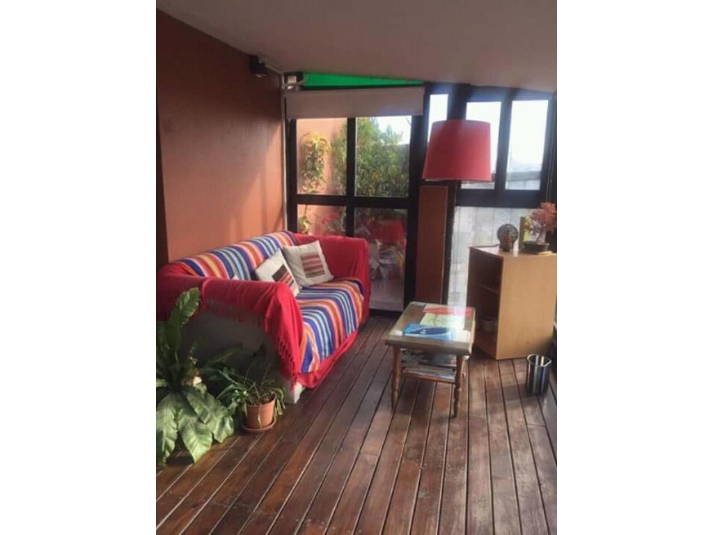 Depto de 2 ambientes muy luminoso y con balcon terraza