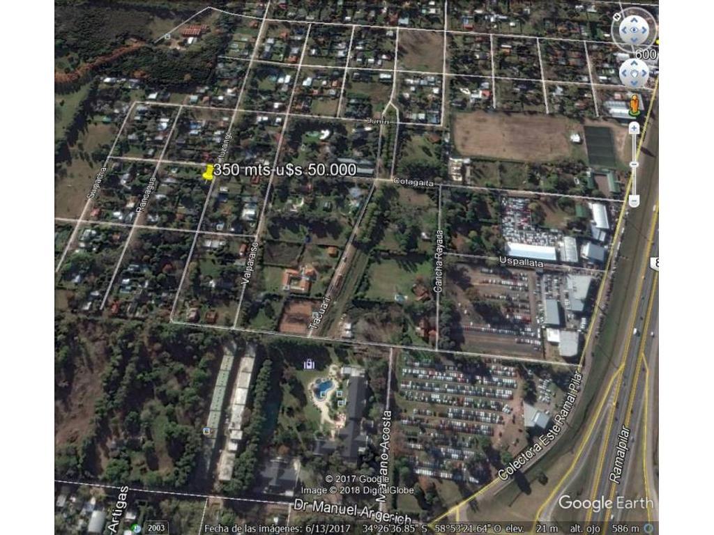 Venta de Lote en Barrio Abierto La Nazarena zona Pilar, Gran Bs.As., Argentina,