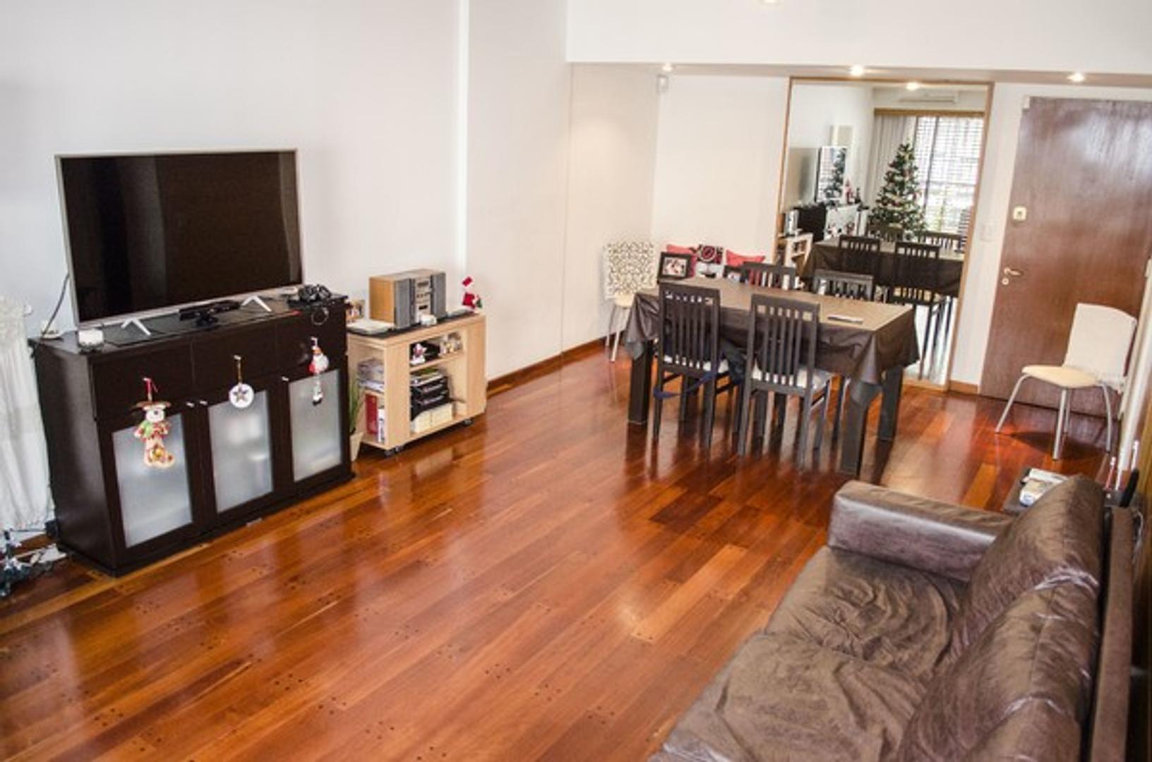 Excelente piso en venta en Palermo de 3 ambientes