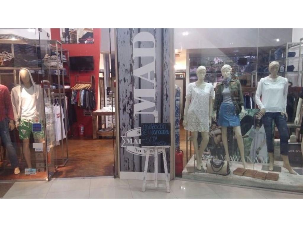 Fondo de comercio a la venta, local de ropa.