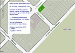 Dueño Vende Terreno Escriturado Barrio LAS DALIAS a 1 cuadra Parque CAMET