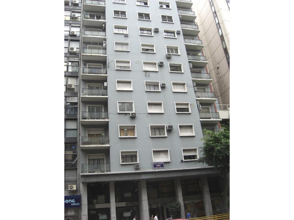 centro 3 amb al frente, balcon, bño y toilette, piso alto, apto credito y profesional, sup.62.89 mts