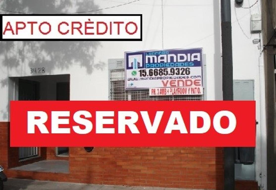 PH 3 AMB + Playroom o 4º AMB   Entrada independiente   Patio   Sin Expensas   APTO CRÉDITO!!