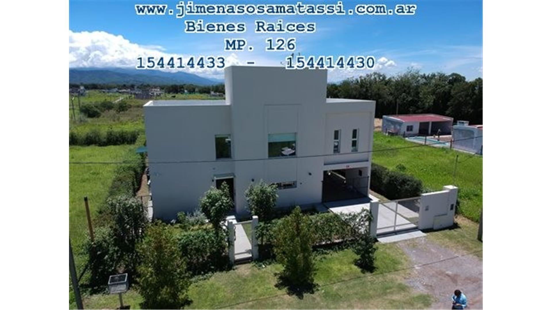 Casa 3 Dor - Mollar Barrio Abierto- Espectacular -