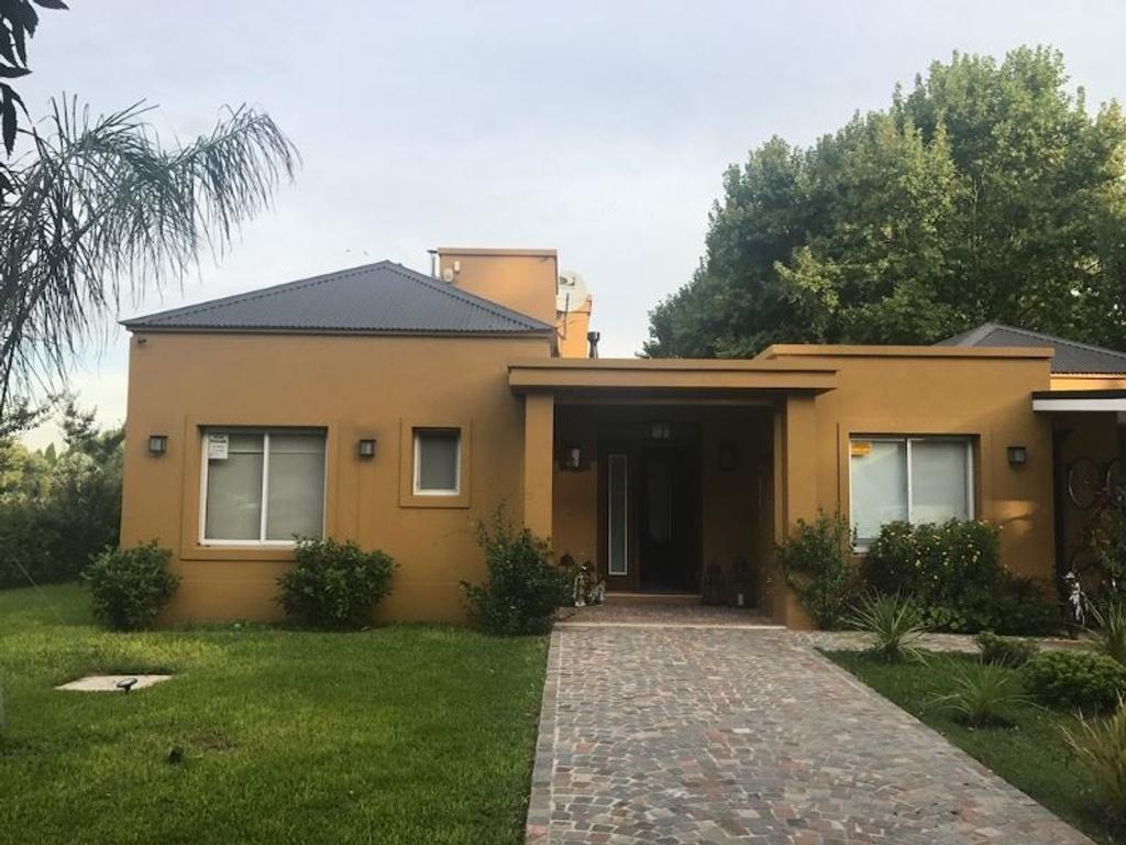 Haras San Pablo Club de Campo - Venta Casa 230 m2. Lote 1600 m2. Inmobiliaria AGbrokers