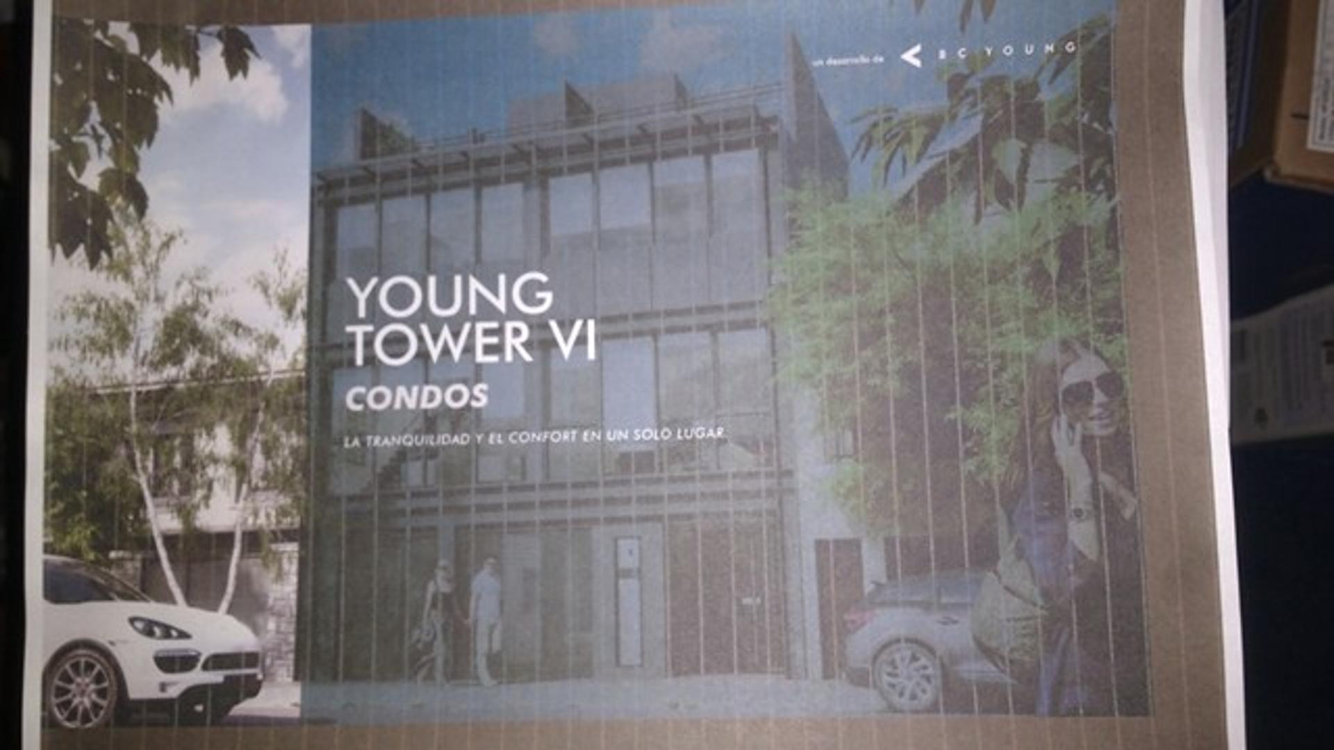 Edificio YOUNG TOWER VI Condos unidades a estrenar zona Vieja Terminal