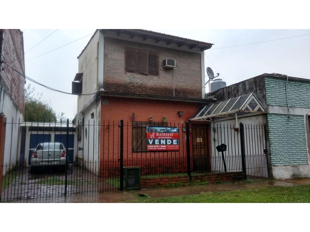 Casa en longchamps apta credito hipotecario