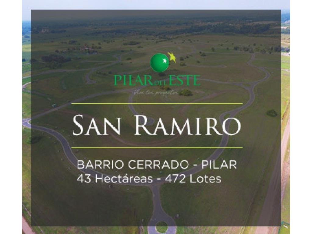 VENTA DE LOTE Bº Cº SAN RAMIRO-PILAR DEL ESTE