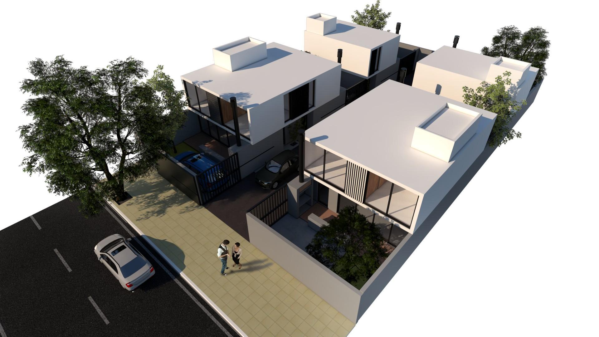 Excelente dúplex en construcción, de 2 dormitorios, 2 baños, garage, parque, parrilla,