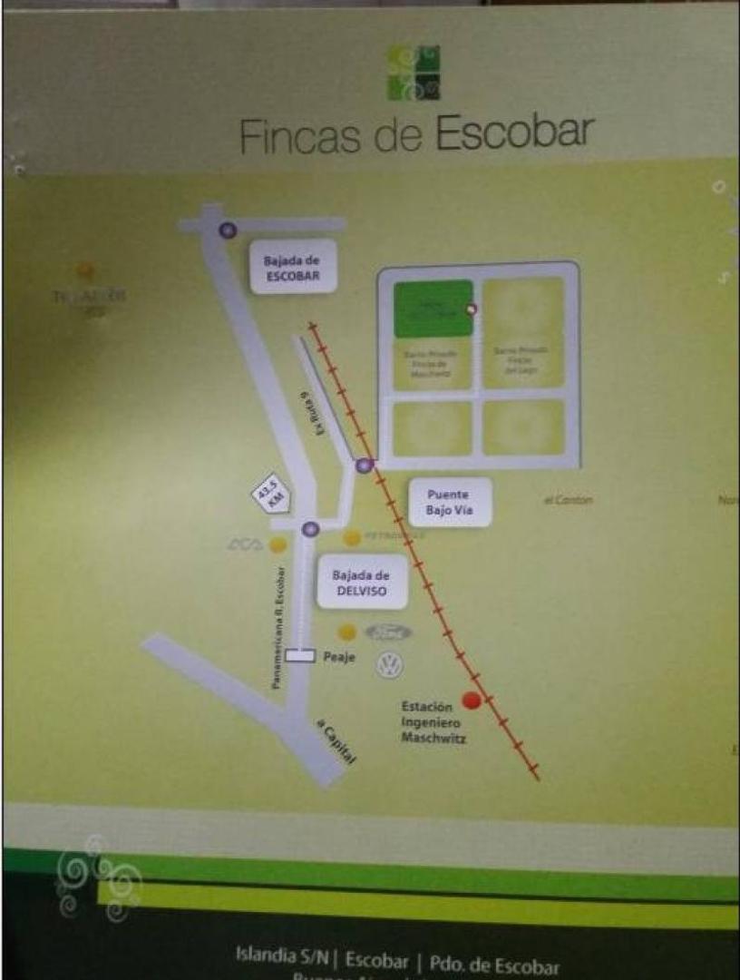 LOTE EN BARRIO CERRADO FINCAS DE ESCOBAR