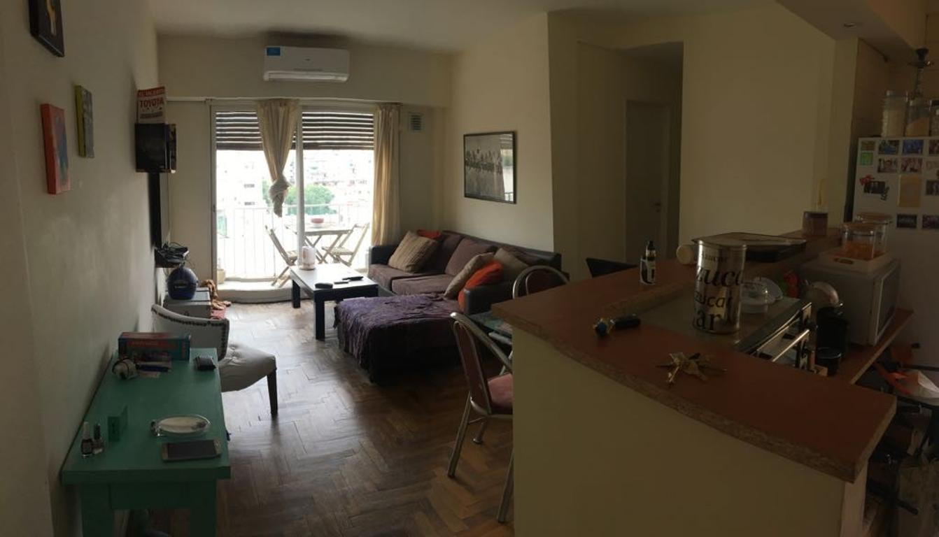 Excelente y cómodo depto tres ambientes, con fantástica luz natural! APTO CRÉDITO!!!