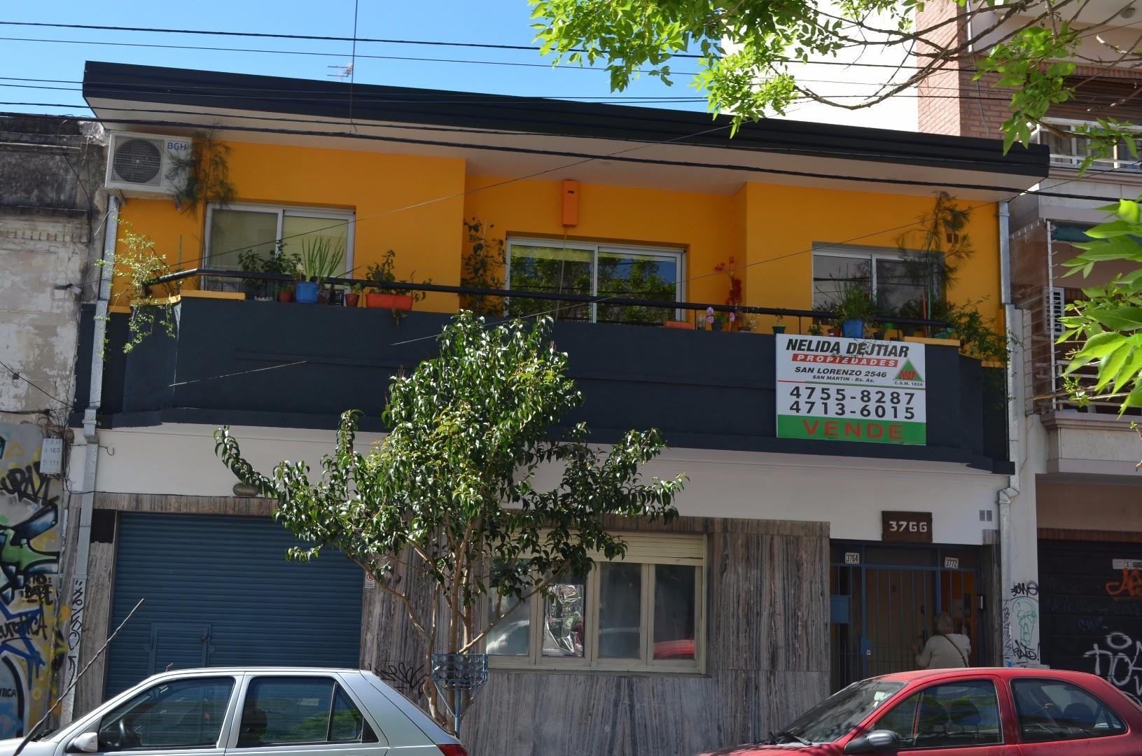 PISO 4 AMB. CON, PATIO, COCINA, LIVING COMEDOR SAN MARTÍN CENTRO