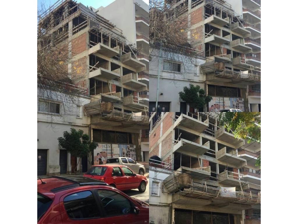 UNIDAD STUDIO en  piso 5to. E, Villa Crespo. EN CONSTRUCCION.