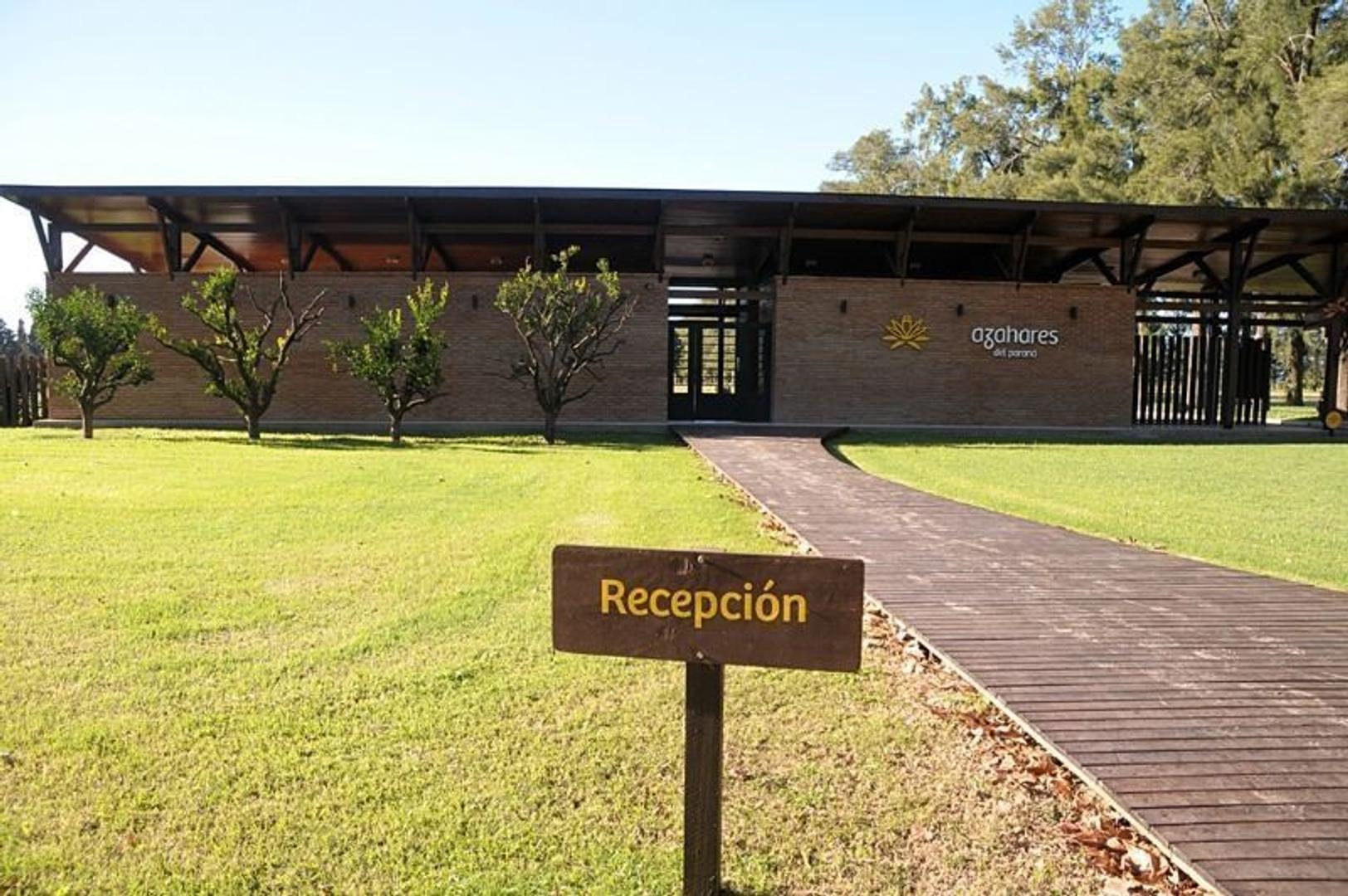 Barrio a la venta Fighiera. Azahares del Paraná. Entrega Inmediata.