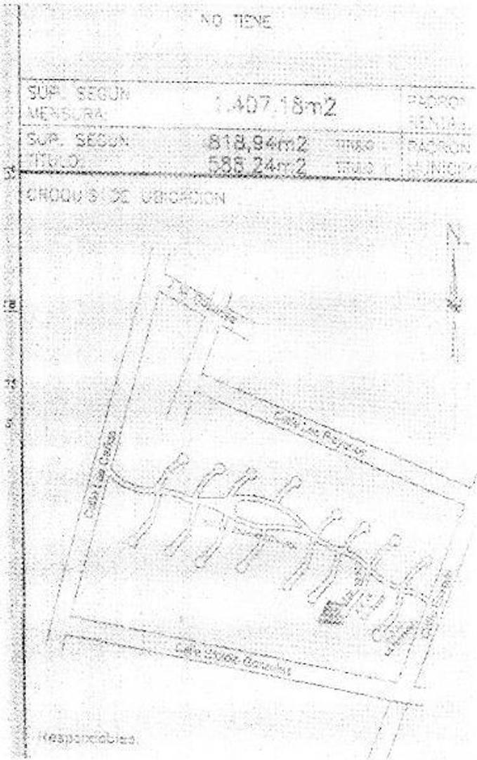 Venta Lote en calle Las Cañas 1808