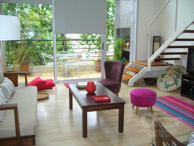 Palermo, Departamento Duplex 2 Ambientes con Balcón, Alquiler Temporario Sin Garantía!