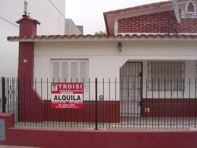Casa en Alquiler Por Temporada en Santa Teresita - 2 ambientes