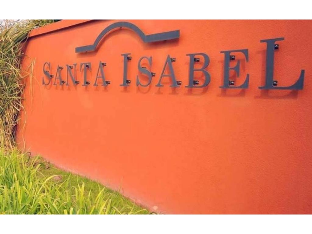 Barrio Cerrado SANTA ISABEL - Lote en venta - AL AGUA