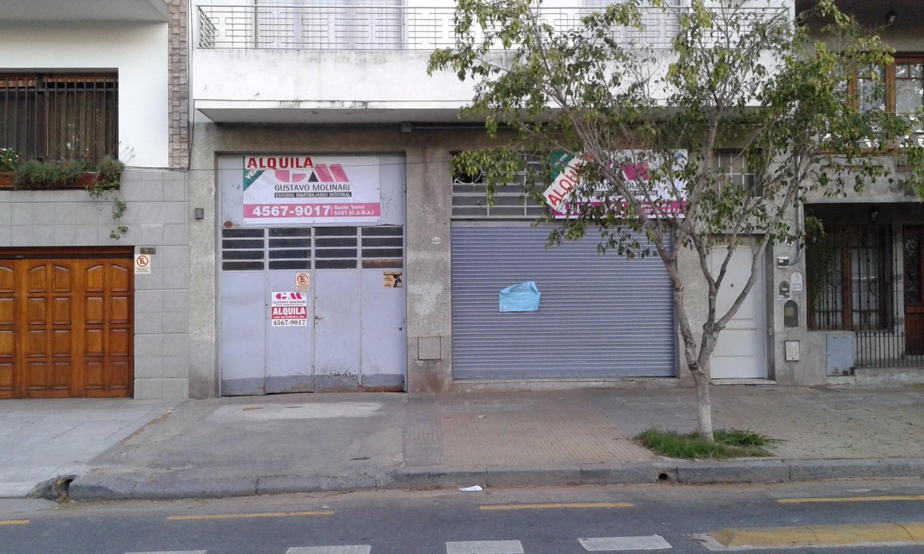 ALQUILER DE  LOCAL CON DEPOSITO  Y ENTRADA DE CAMIONES EN MONTE CASTRO