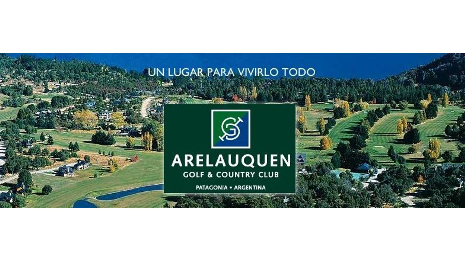 ESPECTACULAR TERRENO EN ARELAUQUEN GOLF & COUNTRY CLUB