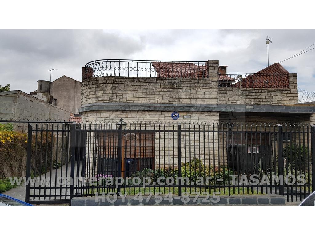VENTA casa 4 amb + galpon en San Andres, Pcia de BSAS – www.carreraprop.com.ar  - tasamos HOY
