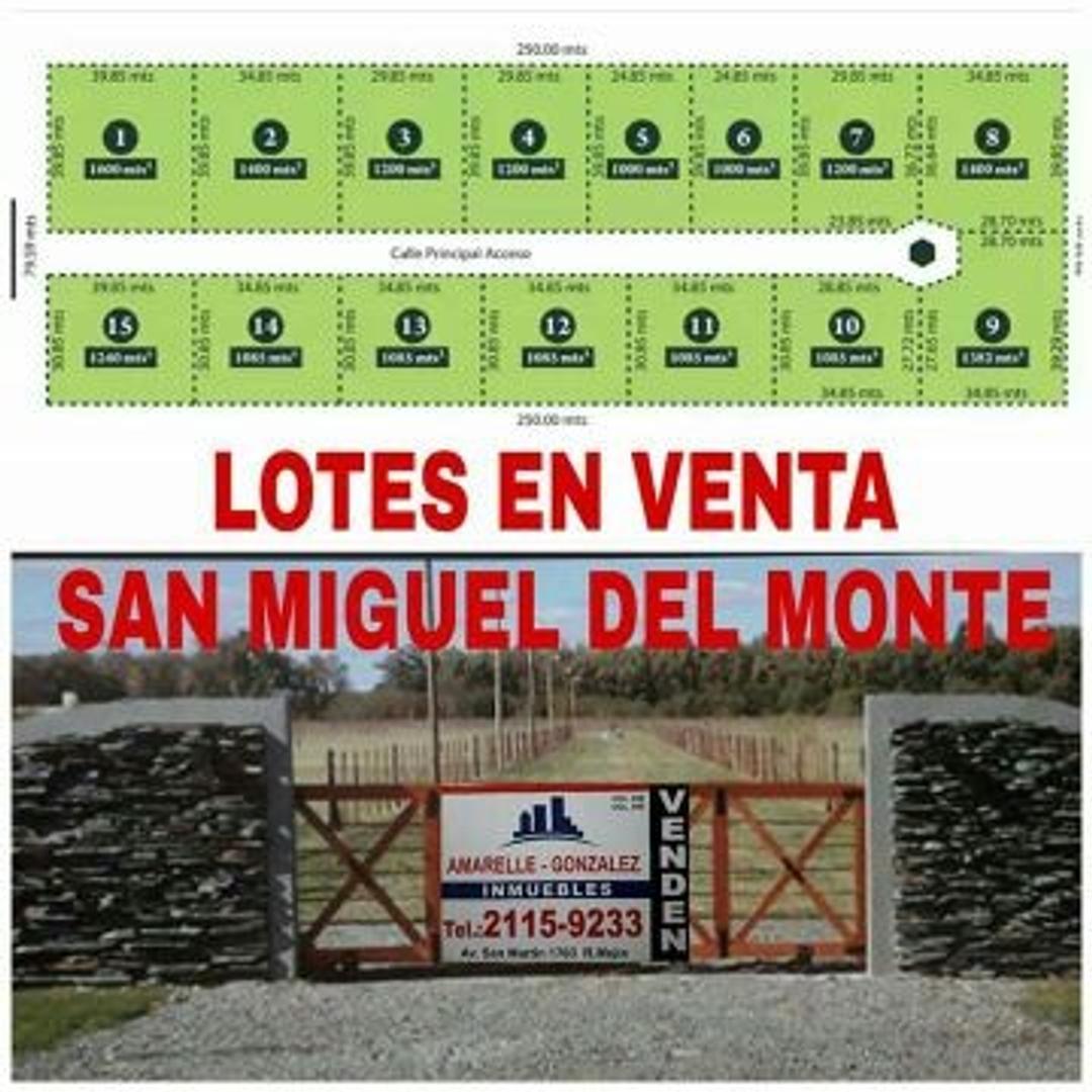 Terreno en Venta en San Miguel Del Monte