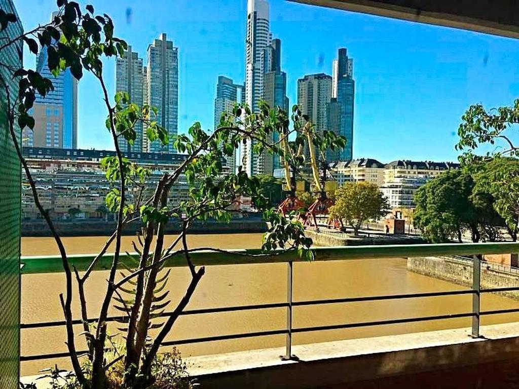 Oficina 90m2 Duplex c/Vista a Diques - 2 baños - 2 Balcones - Secretaria/Conmutador