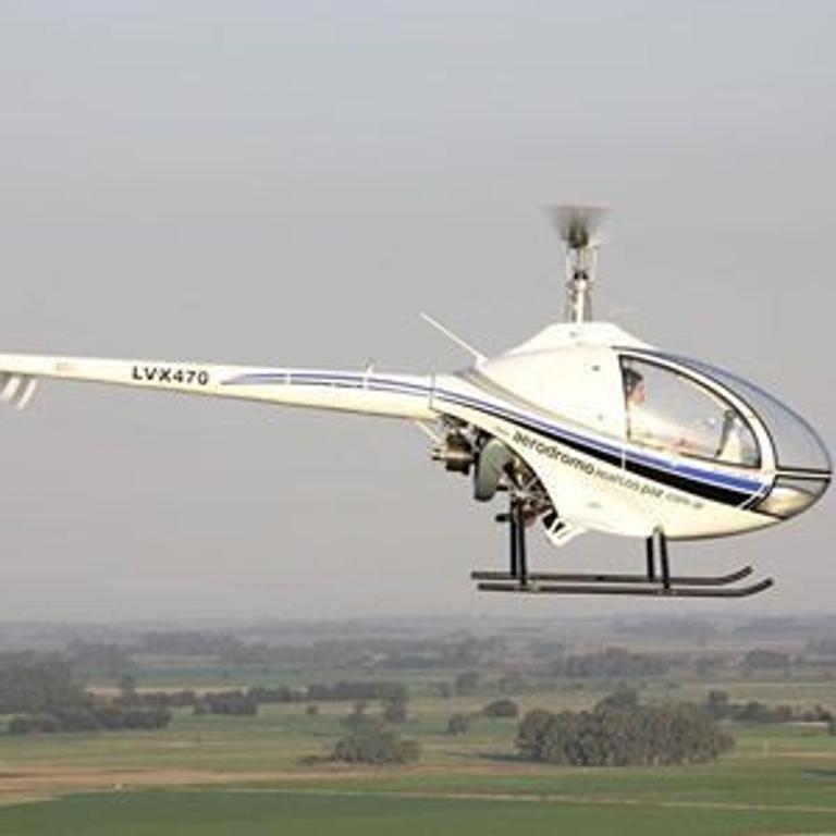 Heli Test Drive en Helicóptero Cicaré DH12 en Pinamar