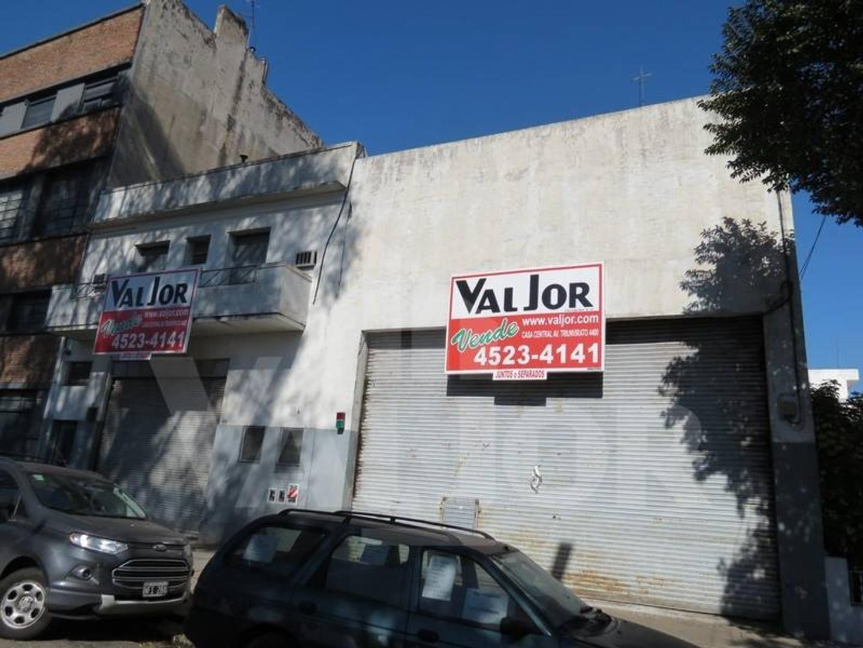 Capdevila 3400, Galpon 2 plantas c/oficinas y deposito s/lote 8.66x51.73 apx.