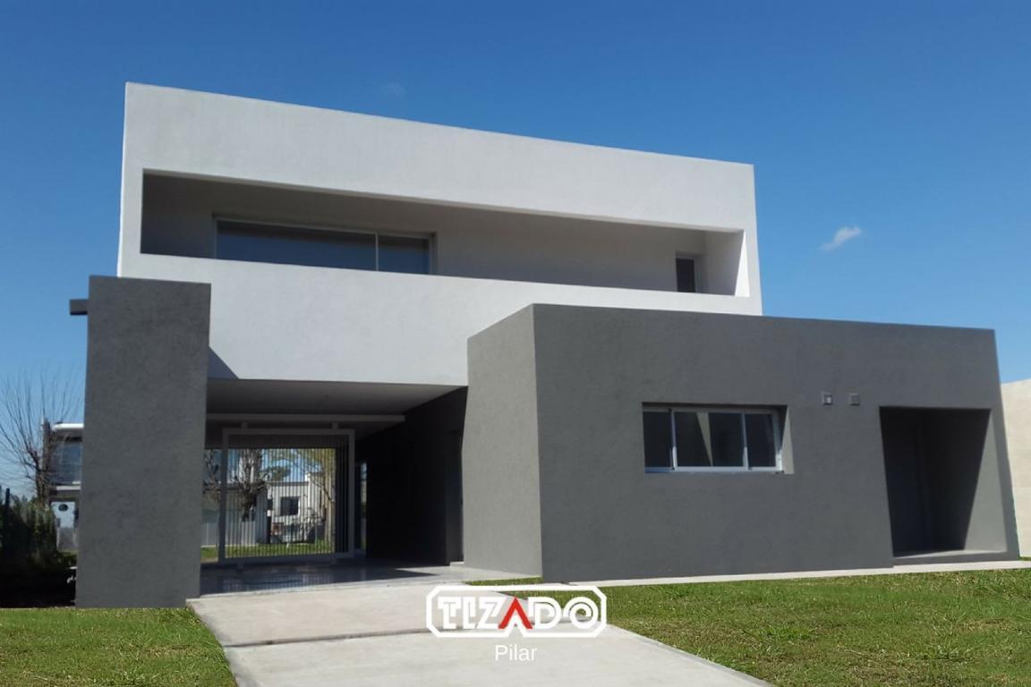 Tizado Pilar Casa en venta 4 ambientes Santa Guadalupe - Pilar del Este. - PIL3830_LP169851_1