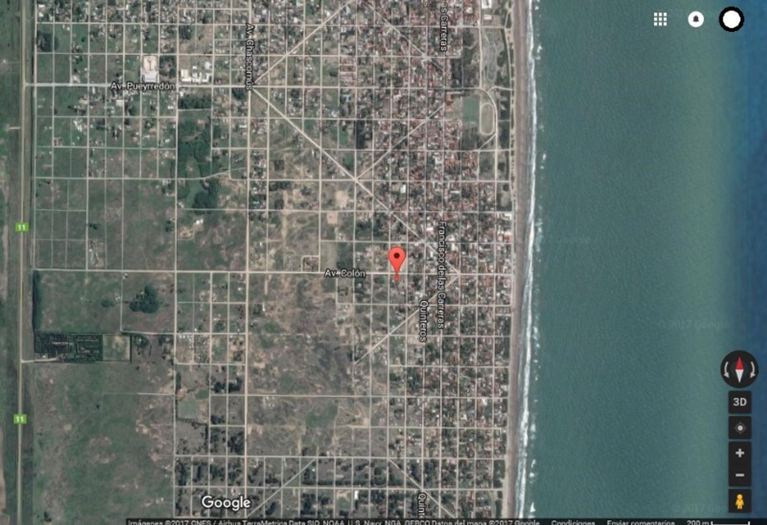 Excelente Lote Terreno en Mar de Ajó, Partido de la Costa. En el Centro. A mts de la Playa