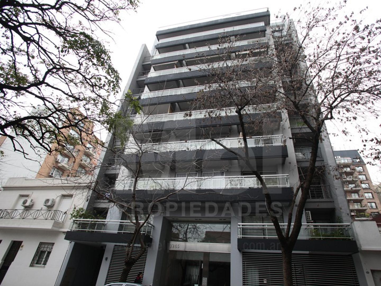 Excelente monoambiente divisible en edificio de 7 años de antiguedad con amenities, luz, sol y vista