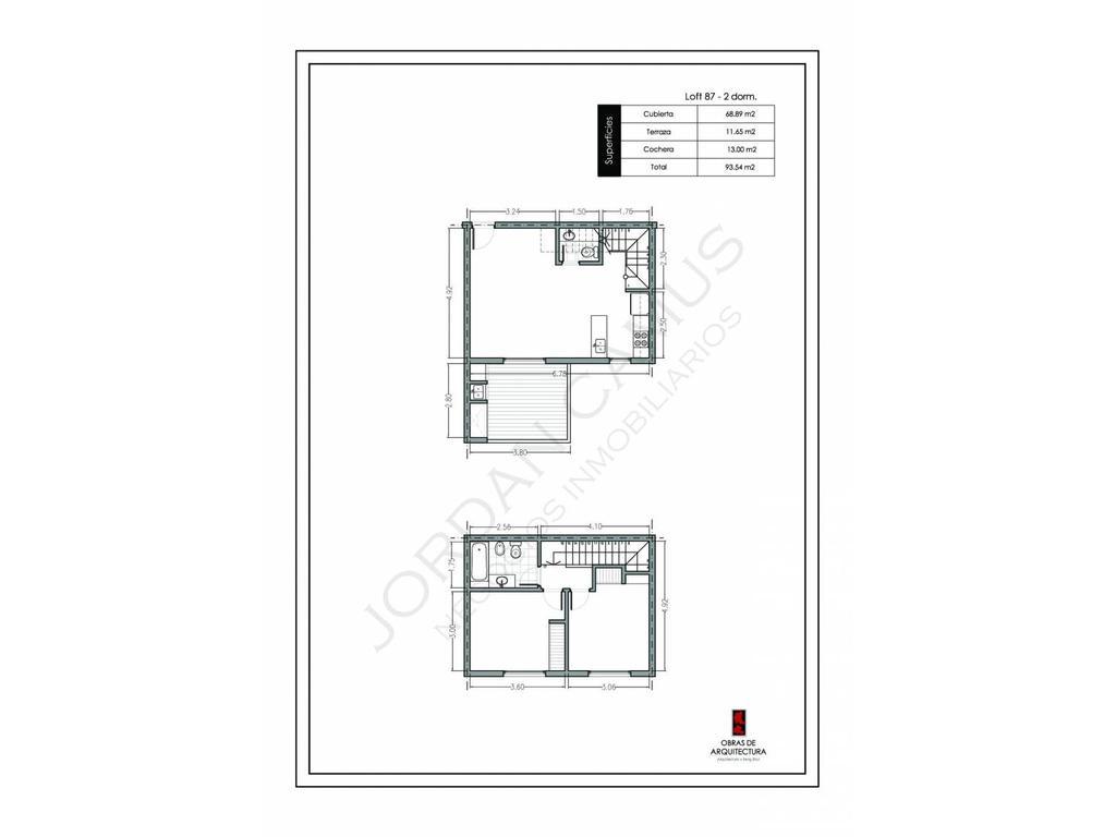 Duplex en Homes III con cochera