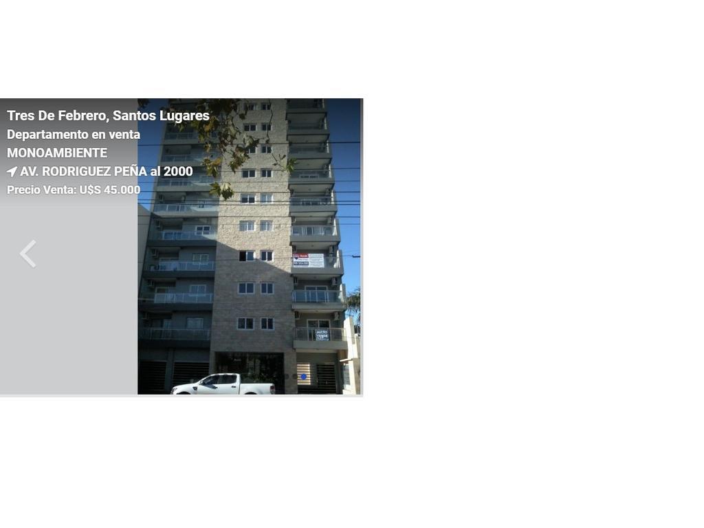 DEPARTAMENTO MONOAMBIENTE ZONA SANTOS LUGARES. EXCELENTE UBICACION