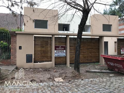Venta en Obra - Villa Ballester - Duplex A ESTRENAR - 4 ambientes + Fondo libre y Parrilla
