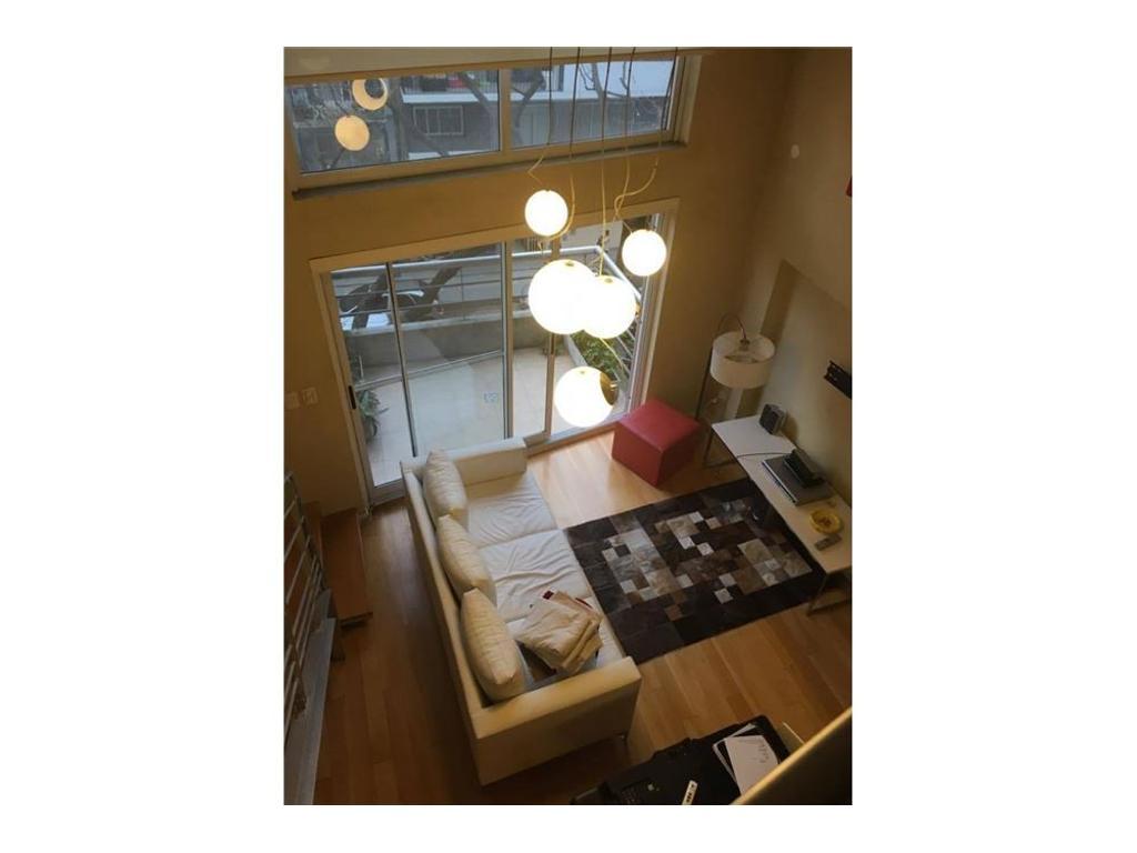 Impecable Loft Amoblado con Balcon!