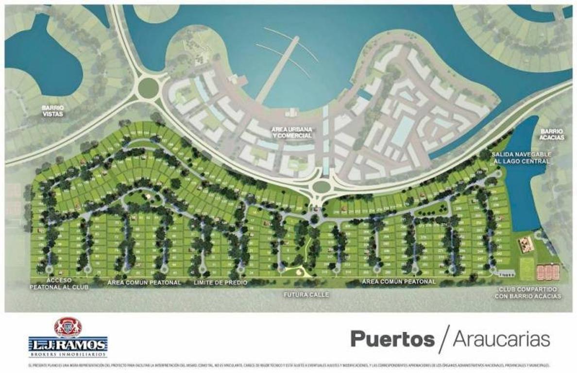 PUERTOS - BARRIO ARAUCAURIAS - RAMAL ESCOBAR KM 45 - LOTE 161 - 100