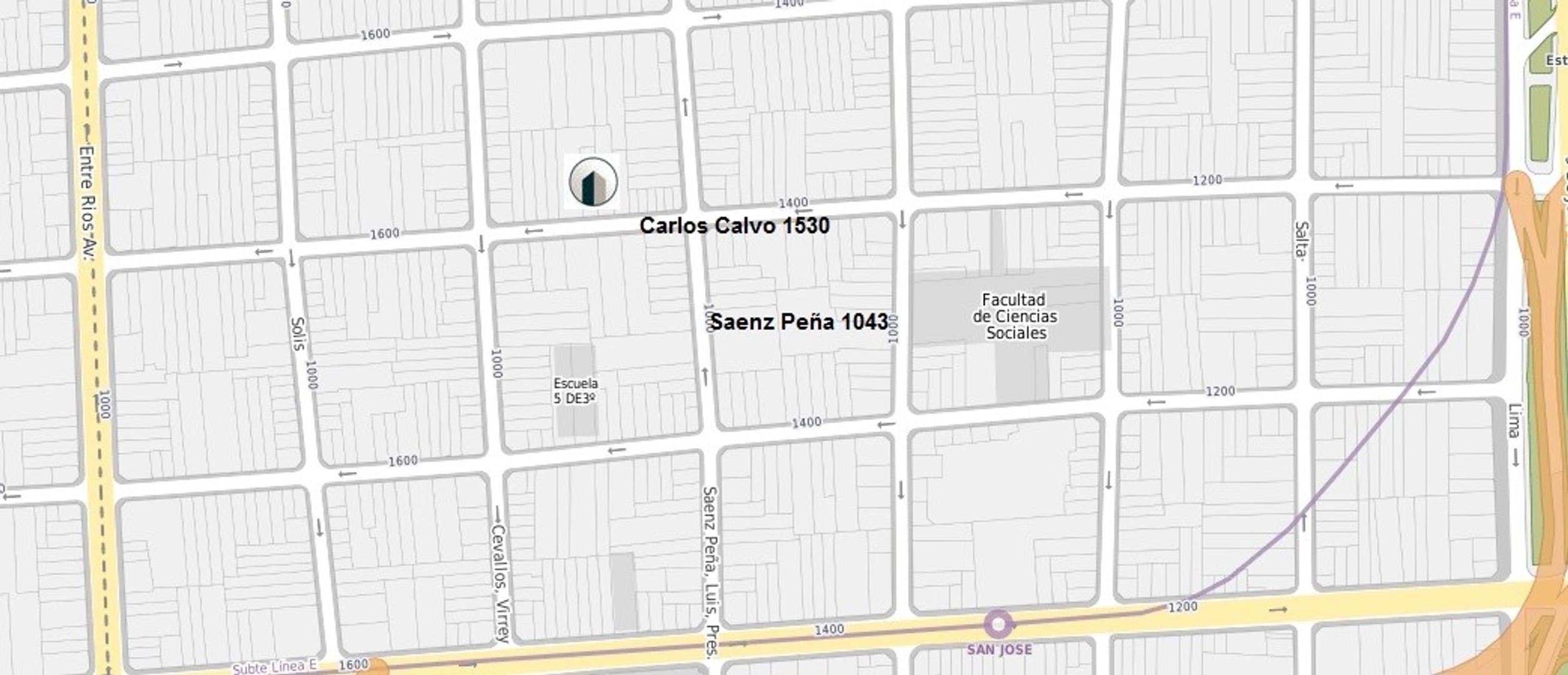XINTEL(COI-COI-721) Departamento - Venta - Argentina, Capital Federal - Carlos Calvo 1530