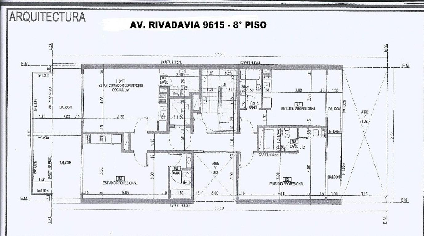 XINTEL(NIR-NIR-984) Departamento - Venta - Argentina, Capital Federal - AV. RIVADAVIA  AL 9600