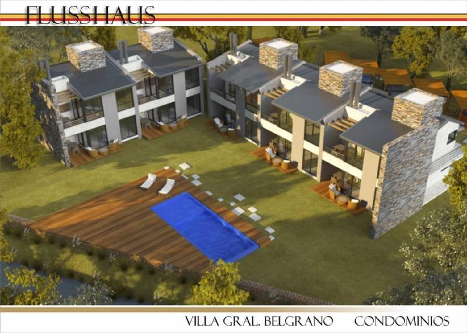 Villa general Belgrano - oportunidad de permuta