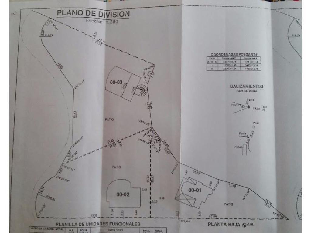 UNICO TERRENO CUL DE SAC !!! CAUQUEN 255/256 UF 1 Y 2 CON COSTA RIO BONITO (NO NAVEGABLE)!!