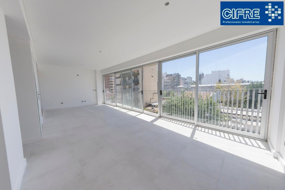 Monoambiente divisible con balcon al frente. cocina separada A ESTRENAR ( Suc.Urquiza 4521-3333 )
