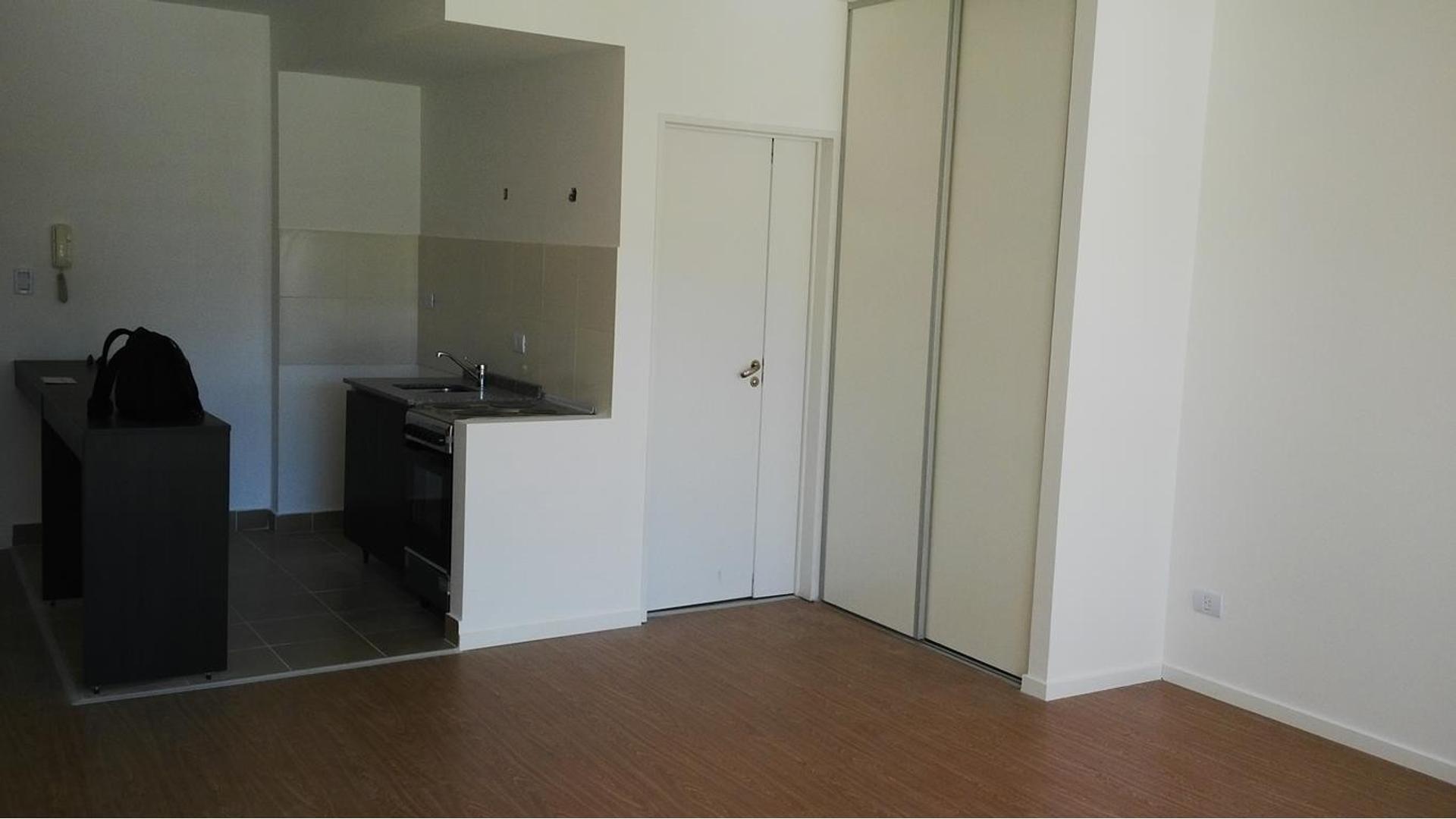 Monoambiente en Villa Urquiza. Condominio americano, todos los amenities