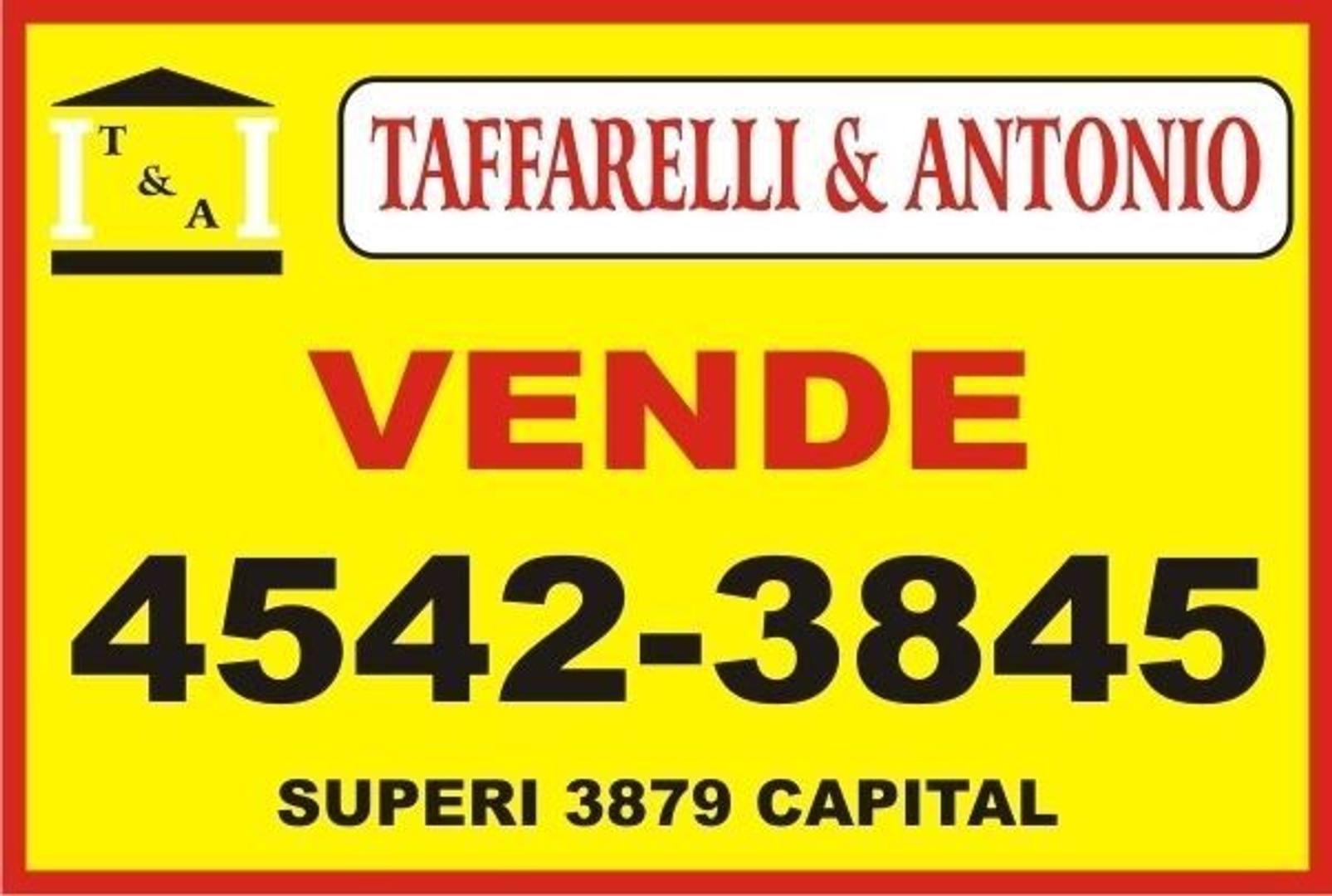 EXCELENTE LOTE  S/AV.  BALBIN Y JARAMILLO- SALIDA A 2 CALLES - FOT LIBRE - APTO 1200 m2- OR. ESTE -